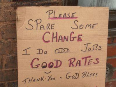 Odd jobs, good rates
