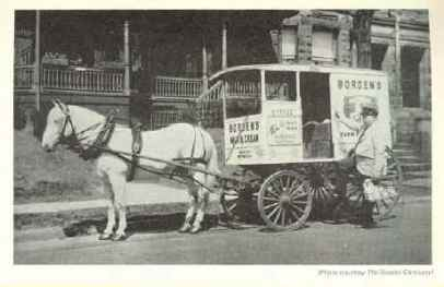 Milk wagon