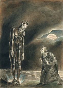 Hamlet and the ghost