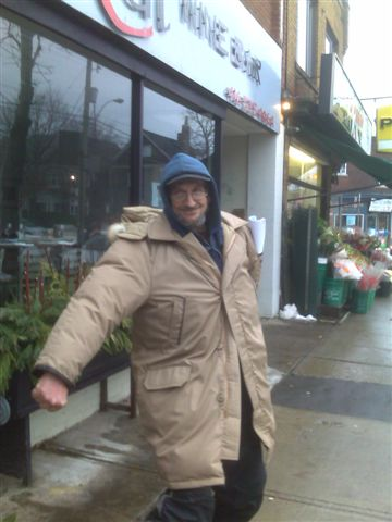 Tony's new coat