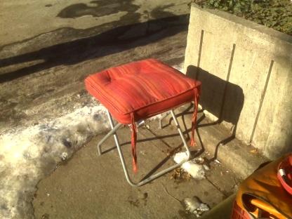 Warm bench