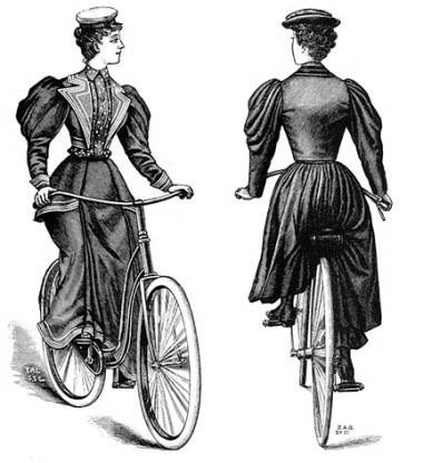 2 women on bikes - Aug 4 2009