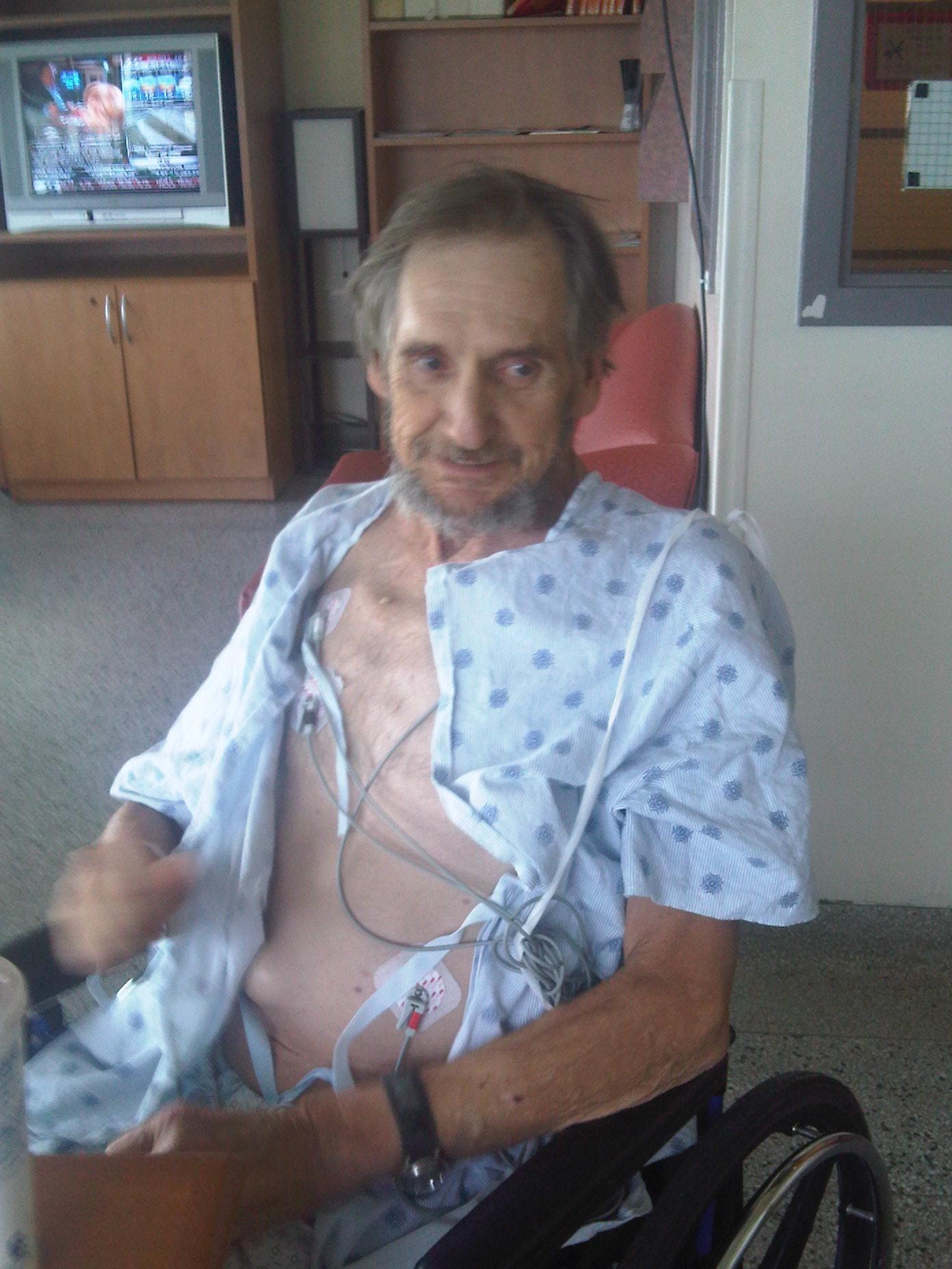 1 - Tony in Hospital  - Oct 5 2009