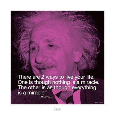 Einstein quote - HMS